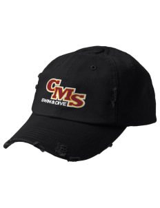 Claremont-Mudd-Scripps Women's Athletics Athenas Embroidered Distressed Cap