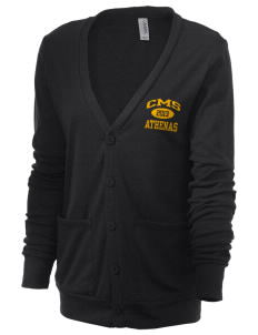Claremont-Mudd-Scripps Women's Athletics Athenas Unisex 5.6 oz Triblend Cardigan