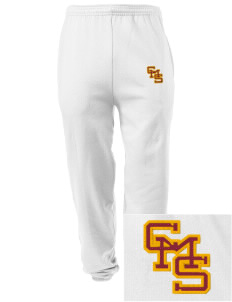 Claremont-Mudd-Scripps Women's Athletics Athenas Embroidered Men's Sweatpants with Pockets