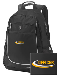 Palos Park Police Department Embroidered OGIO Carbon Backpack