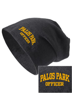 Palos Park Police Department Embroidered Slouch Beanie