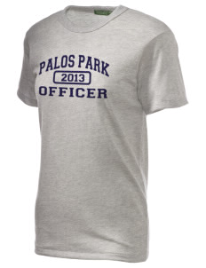 Palos Park Police Department Embroidered Alternative Unisex Eco Heather T-Shirt