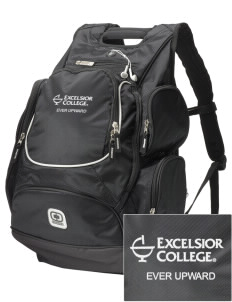 Excelsior College Start to Finish  Embroidered OGIO Bounty Hunter Backpack