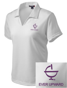 Excelsior College Start to Finish Embroidered Women's Dri Mesh Polo