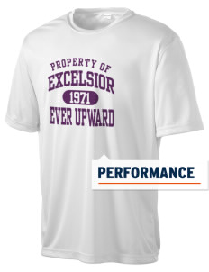 Excelsior College Start to Finish Men's Competitor Performance T-Shirt