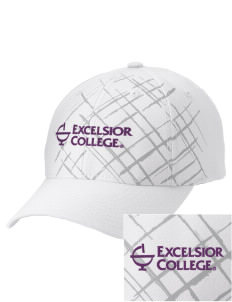 Excelsior College Start to Finish Embroidered Mixed Media Cap