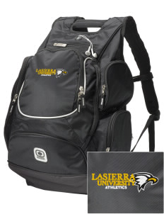 La Sierra University Golden Eagles  Embroidered OGIO Bounty Hunter Backpack
