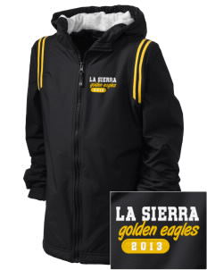 La Sierra University Golden Eagles Embroidered Holloway Kid's Titan Hooded Jacket
