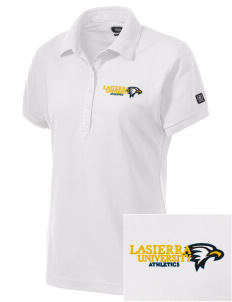 La Sierra University Golden Eagles Embroidered OGIO Women's Jewel Polo