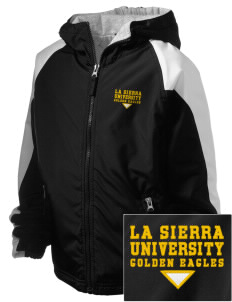 La Sierra University Golden Eagles Embroidered Holloway Kids Homefield Zip Front Jacket