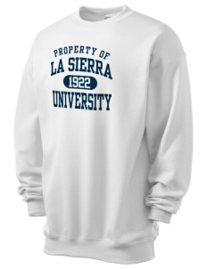 La Sierra University Golden Eagles Men's 7.8 oz Lightweight Crewneck Sweatshirt