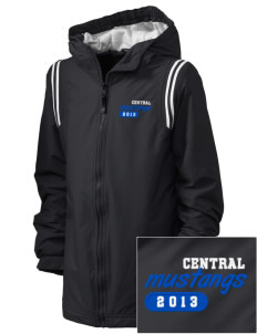 Central Baptist College Mustangs Embroidered Holloway Kid's Titan Hooded Jacket