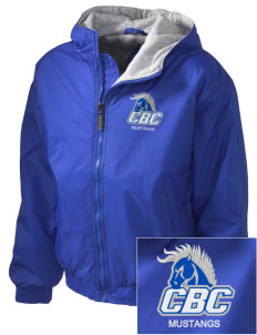 Central Baptist College Mustangs Embroidered Holloway Kid's Triumph Hooded Jacket