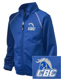 Central Baptist College Mustangs Embroidered Holloway Kid's Attitude Warmup Jacket