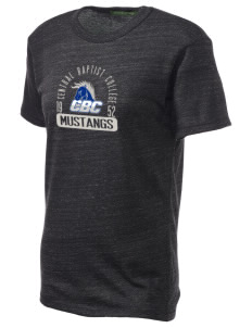Central Baptist College Mustangs Alternative Unisex Eco Heather T-Shirt