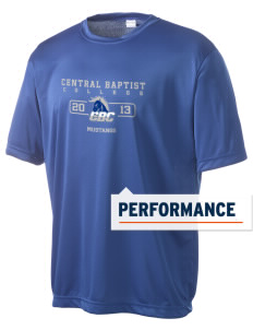 Central Baptist College Mustangs Men's Competitor Performance T-Shirt