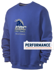 Central Baptist College Mustangs  Russell Men's Dri-Power Crewneck Sweatshirt