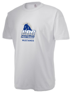 Central Baptist College Mustangs  Russell Men's NuBlend T-Shirt