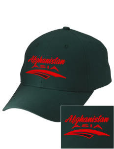 Afghanistan Embroidered Low-Profile Cap