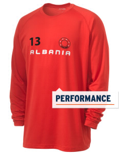 Albania Men's Ultimate Performance Long Sleeve T-Shirt