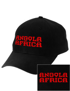Angola Embroidered Low-Profile Cap