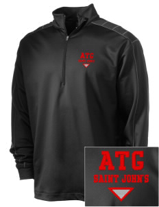 Antigua and Barbuda Embroidered Nike Men's Golf Dri-Fit 1/2 Zip