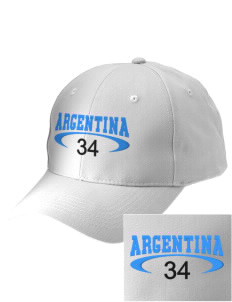 Argentina Embroidered Low-Profile Cap