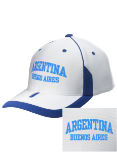 Argentina Embroidered M2 Universal Fitted Contrast Cap