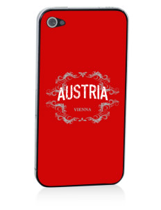 Austria Apple iPhone 4/4S Skin