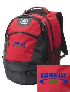 Azerbaijan Embroidered OGIO Rogue Backpack
