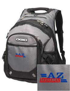 Azerbaijan Embroidered OGIO Fugitive Backpack