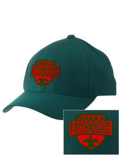 Bangladesh Embroidered Pro Model Fitted Cap