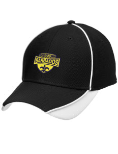 Barbados Embroidered New Era Contrast Piped Performance Cap