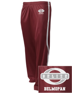 Belize Embroidered Holloway Men's Tricotex Warm Up Pants