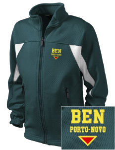 Benin Embroidered Holloway Kid's Impact Full-Zip Track Jacket