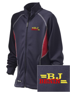 Benin Embroidered Holloway Kid's Momentum Warmup Jacket