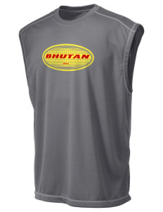 Bhutan Champion Men's 4.1 oz Double Dry Odor Resistance Muscle T-Shirt