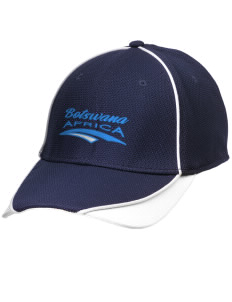 Botswana Embroidered New Era Contrast Piped Performance Cap