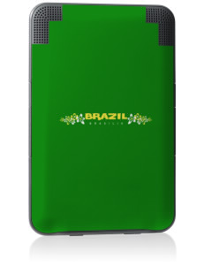 Brazil Kindle Keyboard 3G Skin