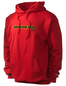 Burkina Faso Champion Men's Hooded Sweatshirt