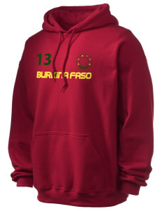 Burkina Faso Ultra Blend 50/50 Hooded Sweatshirt