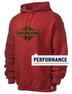 Burkina Faso Russell Men's Dri-Power Hooded Sweatshirt