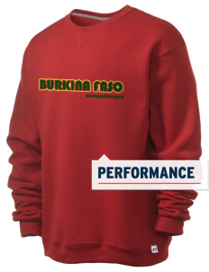 Burkina Faso  Russell Men's Dri-Power Crewneck Sweatshirt