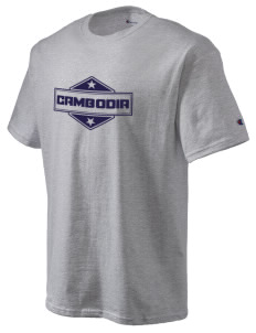 Cambodia Champion Men's Tagless T-Shirt
