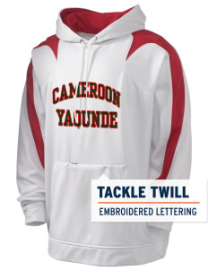 Cameroon Holloway Men's Sports Fleece Hooded Sweatshirt with Tackle Twill