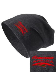 Cameroon Embroidered Slouch Beanie