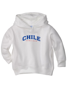 Chile  Toddler Fleece Hooded Sweatshirt with Pockets