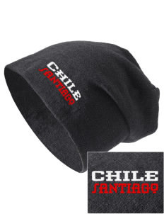 Chile Embroidered Slouch Beanie