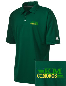 Comoros Embroidered Russell Coaches Core Polo Shirt