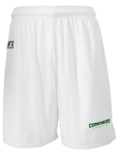 "Comoros  Russell Men's Mesh Shorts, 7"" Inseam"